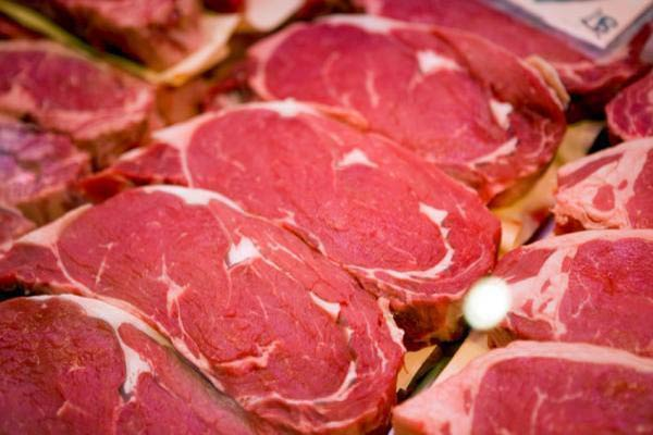 گوشت قرمز خالص شترمرغ